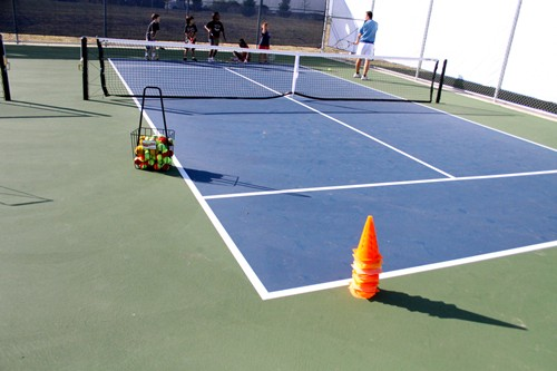 The 36' Quickstart Court is the new USTA regulation size competitive court for 8&Under