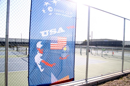 The Austin 10&under Training Center was made possible through the Davis Cup Legacy Project.