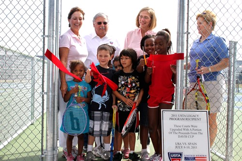 The Grand Opening for the Austin 10&Under Training Center was held October 22, 2011.